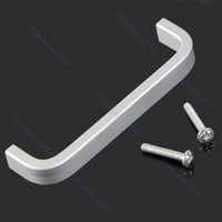 Cheap Hot Sell 10pcs lot Aluminum Alloy Cabinet Bathroom Kitchen Cupboard Drawer Door Knob Handle Grip Free Shipping