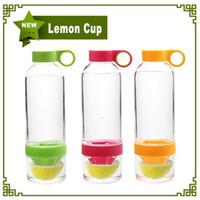Citrus Zinger Lemon Cup Fruit Infusion Water Bottles with Ci...
