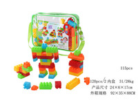 Wholesale colorful mutilful purpose block toy without wheel construct toy