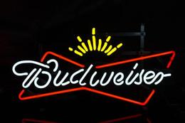 New budweiser Light Neon Light Bar Pub Sign