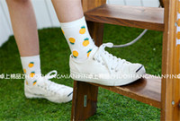 Cheap Korean style,fashion fruit women sock, ankle socks
