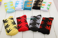 Wholesale pairs SOCKS Maple Leaf leaf socks street corner sock High quality Men s Women s sock