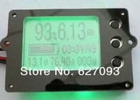 Wholesale 80V A lithium iron batteries real Battery capacity LED indicator tester electric parameter meter coulombmeter Counter