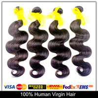 Body Wave virgin brazilian hair - Free Cash volume Grade A Brazilian Hair Weave inch Unprocessed Virgin Hair Wefts B Brazilian Body Wave Human Hair Extensions