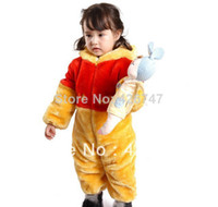Cheap Free shipping Fashion kid's character pajamas winter sleeping bag,kid's costume,kid's outwear winter overalls,kid's snowsuit