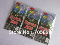 Wholesale Noctilucous Crappie Rig Super jigs fishing hooks with the balance connector packs