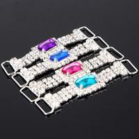 Cheap High Quality Diamante Gem Silver Napkin Ring Bridal Wedding Party Favor