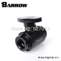 Wholesale G1 quot Brass black MINI double inner thread water check valve water stop ball valves