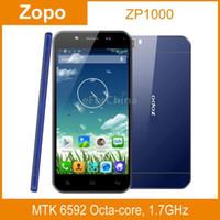 Cheap Wholesale - Original ZOPO ZP1000 Ultrathin Android 4.2 MTK6592 Octa Core 5.0 inch Capacitive Screen Mobile Phone RAM 1GB ROM 16GB Dual SIM--
