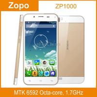Cheap Wholesale - ZOPO ZP1000 Golden, GPS  AGPS, Android 4.2, MTK6592 Octa Core, RAM: 1GB, ROM: 16GB, 5.0 inch HD Capacitive Screen Smart Phone--f