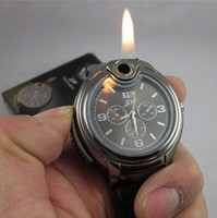 Wholesale New arrival Novelty Collectible Watch Cigarette Lighter Creative personality watch lighter Silver Black Color DHL Free JJD08160520