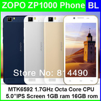 """Cheap Wholesale - 100% original ZOPO ZP1000 mtk6592 1.7GHz octa core 3G phone 5""""IPS ultra thin 5mp+14mp dual cameras android4.2os Wifi-display OTG"""