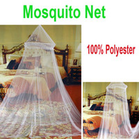 Cheap 5pcs lot ,Elegant Netting Bed Canopy Mosquito Net White,Freeshipping Dropshipping Wholesale