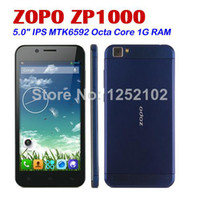 Cheap Wholesale - 5.0 inch ZOPO ZP1000 MTK6592 Octa Core Cell Phones 1.7GHz IPS Capacitive Screen 1280x720 1GB 16GB 14.0MP Android 4.2 OS--free sh