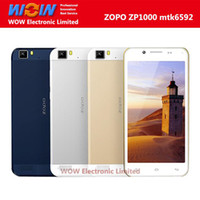 Cheap Wholesale - Original ZOPO ZP1000 5.0 inch HD Capacitive Screen MTK6592 Octa Core 1.7GHz Phone Android 4.2 OS 16GB 14MP 3G GPS Cell Phone--fr