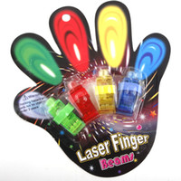 Cheap Wholesale-OP-2 Sets,8 pcs 2013 Fashion Party LED Finger Light Bright Finger Beautyful Unique Ring Dancing Lights Rave Party Glow #2102