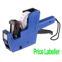 Cheap Freeshipping 8 Characters Universal Price Tag Pricing Labeller Gun for supermarket ,dropshipping Wholesale