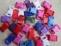 Wholesale 100pcs Multi Curved Survival Bracelet Buckles Plastic Buckles x15mm pc For mm Webbing
