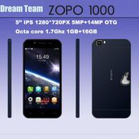 "Cheap Wholesale - Original 5"" IPS screen ZOPO ZP1000 Octa Core Mobile phone Mtk6592 Octa Core1.7GHz 1GB RAM 16GB ROM 5.0MP 14MP camera Android4.2-"