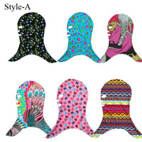 Cheap Fashion UV Protection Face Bikini Men and Women's Outdoor Swimming Head Snorkeling Special Head Caps Bask Face Mask Sarongs Swiming Scarves