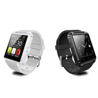 Cheap Bluetooth Smartwatch U8 U Watch Smart Watch Wrist Watches for iPhone 4 4S 5 5S Samsung Note 2 Note Android Phone Smartphone DHL FREE ZKT