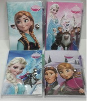 High quality Frozen Book Notebook with a Pen Student Diary F...