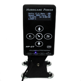Wholesale Professional HP T Tattoo Power Box Hurricane Power LED Digital For Tattoo power box Supply EMS