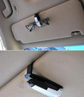 Cheap Car Vehicle Visor Accessories Sunglasses Glasses Card Pen Holder Ticket Clip