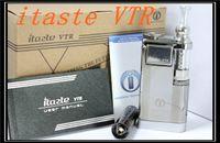 Cheap 100% Original New Innokin itaste VTR E-cigarette kit Model 3.0ML iClear 30S atomizer Clearomizer vaporizer iTaste VTR ego kit DHL Free