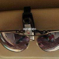 Cheap New 4PCS LOT Hot Sales Fashion Smart glasses clip car Sun Visor Vehicle Sunglasses Eyeglasses Holder Clip Durable