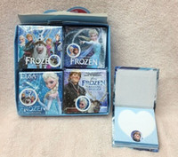 Wholesale Frozen elsa and anna olaf Books Note book Memo Pad kids new term gifts school supplies pocket book