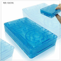 Wholesale OP Decompression gift birthday present paper money maze educational toys crystal labyrinth saving box color
