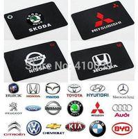 no min order - No min order Big Powerful Silica Gel Magic Sticky Pad Antislip Non Slip Mat with Car Logo for Phone PDA mp3