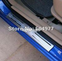 accessories for auto kia - Door sills sill plate scuff plate for Kia Rio stainless steel auto accessory