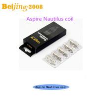 Original Aspire Dual Coils E Cigarette Aspire Nautilus Coil ...