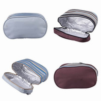 Wholesale New Oxford Cloth Organizer Lunch Bag Cooler Ice Bag Insulated Outdoor Thicken Picnic Pouch Style Choose ZWT
