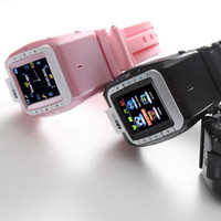 Wholesale N388 mobile watch phone with M spy camera quot touch screen bluetooth new unlock smart watch DHL ZKT