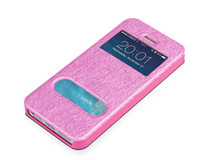 Wholesale Apple iphone S S leather case Samsung mobile phone sets shell female s5 new clamshell protective sleeve around
