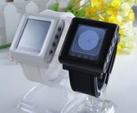 Wholesale Fashion Ultra Thin Wrist Watch Phone AK812 with quot Touch Screen Bluetooth Unlocked Smartphone Quadband Smart Cellphone DHL FREE ZKT