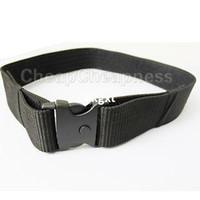 Wholesale quot Police EMT Security Tactical Combat Gear Black Utility Nylon Duty Belt SWAT MO E490