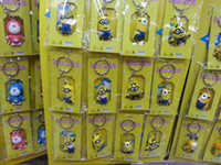 Wholesale Despicable Me Key chain Movie Anime Minion toys Figure Pendants
