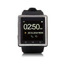 Wholesale Newest Watch Phone S6 Android4 MTK6577 Quad Band Inch G Smart Watch Phone Bluetooth Camera WIFI MP3 MP4 DHL Free ZKT