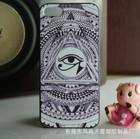 Wholesale PC hard shell painted black edges iphone5 apple iphone4 phone shell protective sleeve s s phone accessories