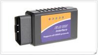 Wholesale Vehicle Diagnostic Tool OBD2 OBD II ELM327 ELM V1 Bluetooth Car Interface Code Scanner Works On Android
