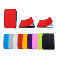 Magnetic Smart cover leather case Stand for ipad 2 3 4 air f...