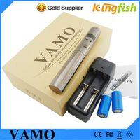 lava tube - Vamo V5 updated lava tube e cigarette mod Electronic Cigarette with LCD Variable Voltage mechanical mod e cigarette battery vaporizer pen