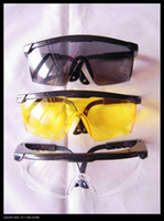 motorcycle frame - OP Black Frame transparent yellow black Lens bike bicycle Motorcycle Goggle Outdoor sports Safety Glasses