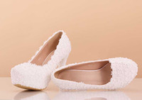 Wedding Heels Stiletto Heel Free Shipping White Lace Wedding Party 12 cm Wedding Shoes Bridal Accessories Hot Sale Pearls Heels Wedding Cheap New 2014