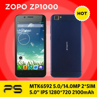 """Cheap Wholesale - 5.0"""" ZOPO ZP1000 MTK6592 5MP 14MP IPS 1280*720 2100mAh Android 4.2 Octa Core Dual SIM smart phone ZOPO C2--free shipping--by DHL"""