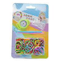 Unisex 5-7 Years Multicolor Colourful Candy Watch DIY Loom Rubber Bands Bracelet Making Kit Twistz FREE SHIPPING